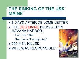 Sinking Of The Uss Maine Apush by The Spanish American War 1898 John Hay U201csplendid Little War