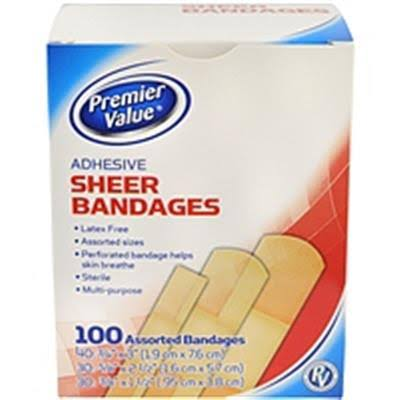 Premier Value Sheer Bandage - 100ct