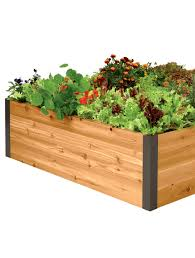 Raised Bed Soil Calculator by 4 U0027x4 U0027 Elevated Cedar Raised Bed Raised Planter Beds Us Made