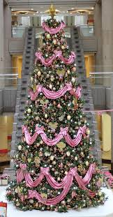 Pink Christmas Tree Decoration
