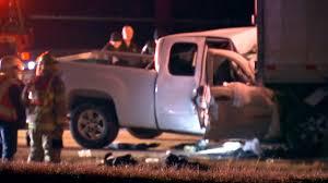 100 Arrow Trucking Tulsa Ok OHP 1 Dead After Pickup Slams Into Semi On Highway 412 News On 6