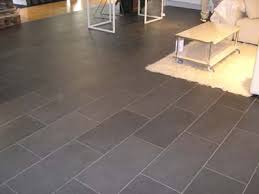 Galvano Charcoal Tile Bathroom by Slate Tile Gray Love This Shape And Layout For Bathrooms