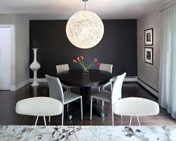 Beautiful Dining Rooms With Black Accent Walls Home Design Lover Room Wall Shore Condo Red