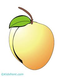 Peach Coloring Pages For Kids To Color And Print