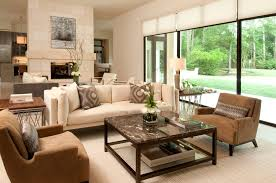 Cozy And fortable American Living Room Interior 8001