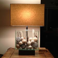 Fillable Craft Table Lamp by 26 Best What To Put In My New Glass Lamp Images On Pinterest