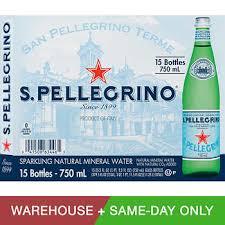 San Pellegrino Sparkling Natural Mineral Water 253 Oz 15 Pack
