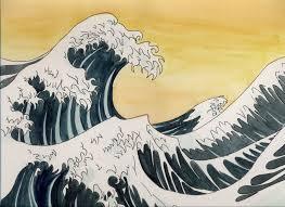 Japanese Waves Art Samurai Wave Pattern Google Koi Tokyo Artwork Japan