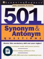 500 word list of synonyms and antonyms pdf