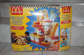 mattel 10335 mc donalds hamburger küche 1994 mit ovp vintage