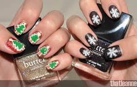 100 Nail Art 2011 Thatleanne Simple Holiday Ideas Feat Butter London