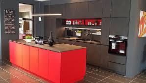 schüller musterküche moderne luxus küche mit großer insel