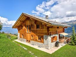 100 Log Cabins Switzerland Chalet Teychenne Les Collons Bookingcom
