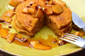 Bisquick Pumpkin Puree Waffles by Pumpkin Pancakes With Sauteed Apples Pamela Salzman U0026 Recipes