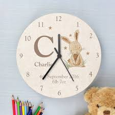 Clocks Big Wooden Clock Oversized Rustic Wall Cute Style Of With Rabbit