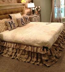 Daybed Dust Ruffle Bed Skirt Full Size Bedroomdaybed Spreads