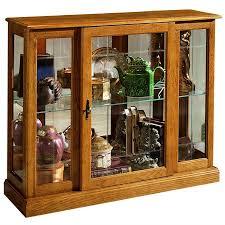 Pulaski Glass Panel Display Cabinet by Amazon Com Pulaski Curio Console 40 By 13 By 33 Inch Medium