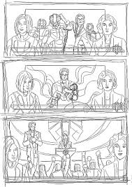 Quikck Update With The Sketch For Page 5