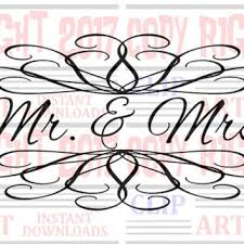 Mr Mrs Wall Decal Clipart Sign Clip Art For Husband And Wife
