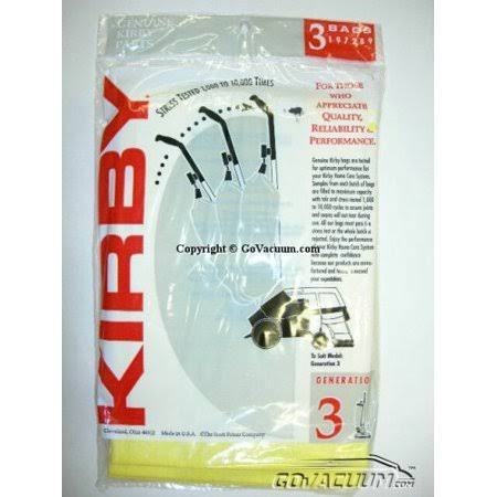 Kirby Disposable Bag/Gen 3, 3 / Case