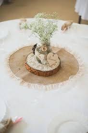 Sale Burlap And Rustic Wedding Decorations Centerpiece Ideas Uk
