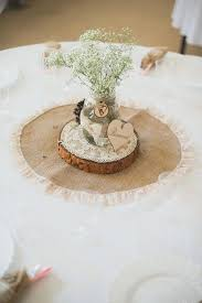 Rustic Burlap Wedding Decorations Centerpiece Ideas Uk