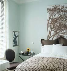 blue paint color contemporary bedroom farrow pale