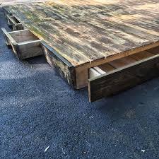 diy pallet platform bed pallet furniture plans