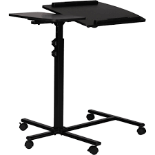 Mainstays Computer Desk Instructions by Mainstays Deluxe Laptop Cart Black Walmart Com