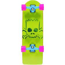 100 Zumiez Trucks Santa Cruz X The Simpsons Bart Simpson 27 Cruiser Skateboard