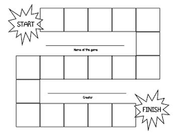 Board Game Template And Question Cards