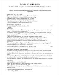 Pharmacy Technician Resumes X Sample Resume Objective Seangarrette Co
