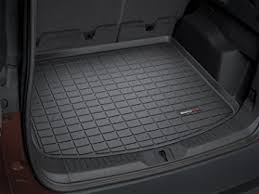 amazon com weathertech custom fit cargo liners for ford explorer