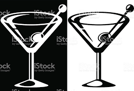 Whit clipart martini glass Pencil and in color whit clipart