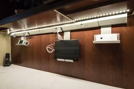 kitchen undercabinet electronics meadowlark design build