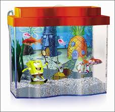 Spongebob Fish Tank Accessories by A Spongebob For Every Home Spongebob Squarepants Aquarium Set