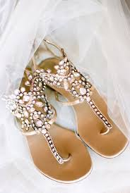 Embellished gladiator sandals perfect for summer wedding and beach