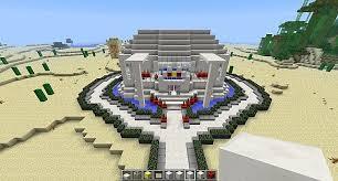Minecraft Circle Floor Designs by Modern Circular House Glass Quartz Minecraft Project