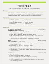 Ksa Resume Examples Refrence Experience Restaurant Sample Unique