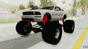 Ford Mustang 2005 Monster Truck For GTA San Andreas Radio Shack Zip Zaps Micor Rc Cars Spiderman Monster Truck Mustang Ford King Cobra 1978 Gta San Andreas Crazy 2 Mustang Monster Truck Wning Mach 1 Mp Races In Bigfoot No1 Original Rtr 110 2wd By Traxxas Shelby Gt500 Monster Truck For Spin Tires Maverick Ion Mt Wild Stang Trucks Wiki Fandom Powered Wikia Shelby Mustang Summit 4wd Blue Tra560764blue Hpi Baja 5r 1970 Boss Asphalt