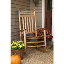 hinkle chair company personalized bradley slat rocker 200s