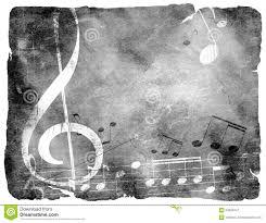 Grunge Musical Background Stock Illustration Of