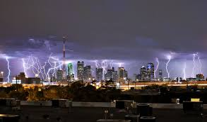 Insane Photo Of All The Lightning Over Dallas