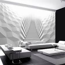 vlies fototapete 3d tapete poster 3d effekt wohnzimmer