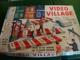 Video Village 1960s Vintage Board Game