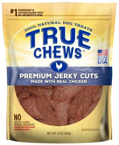 True Chews | Premium Jerky Cuts Chicken Dog Treats - 12-oz