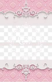 Romantic Pink Wedding Background Material PNG And PSD