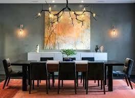 Dining Room Modern Chandelier Contemporary With Cool Farmhouse