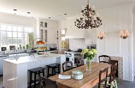 White Traditional Kitchen Design Ideas by Beautiful Traditional Kitchen Designs