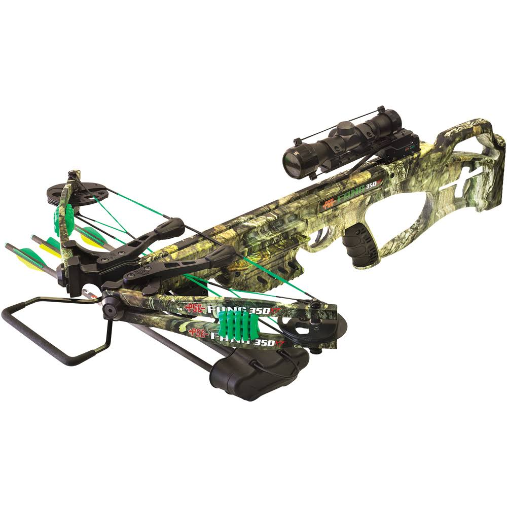 PSE Fang LT Crossbow Package - Mossy Oak
